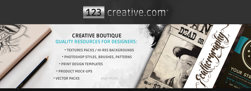 123creative.comCreativeBoutiqueForDesigners