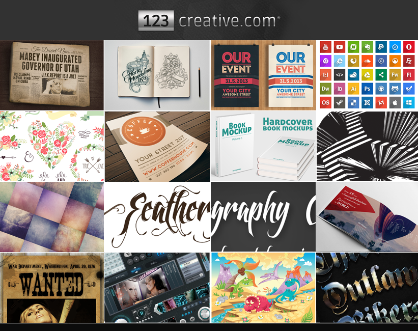 123creative.comGraphicDesignResources