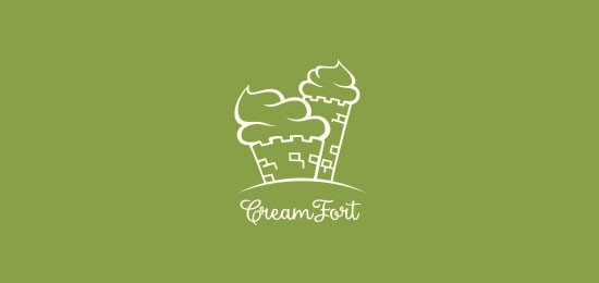 Creamfort logo design