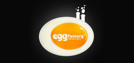 Egg factory logo design