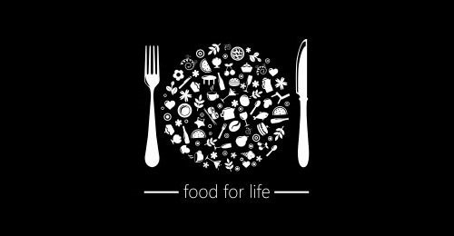 Food for Life - Logo Design for Food Festival